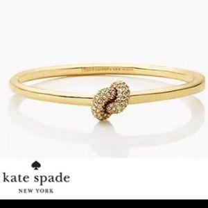 NWT Kate Spade Sailor's Hinge Knot Bangle